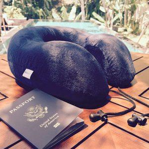 almohada viaje memory soft
