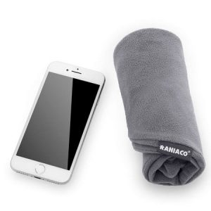 almohada de viaje inflable
