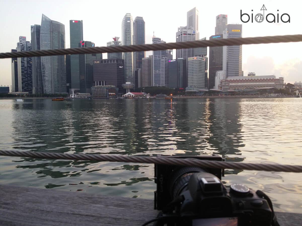 fotografia de singapur
